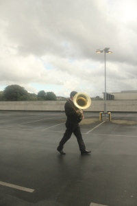 man with euphonium
