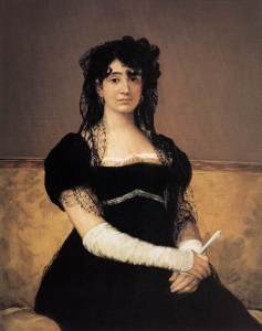 Dona Antonia-Zárate_Goya