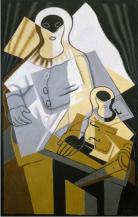 Pierrot_1921_Juan Gris