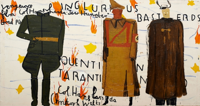 Rose Wylie_inglorious_basterds