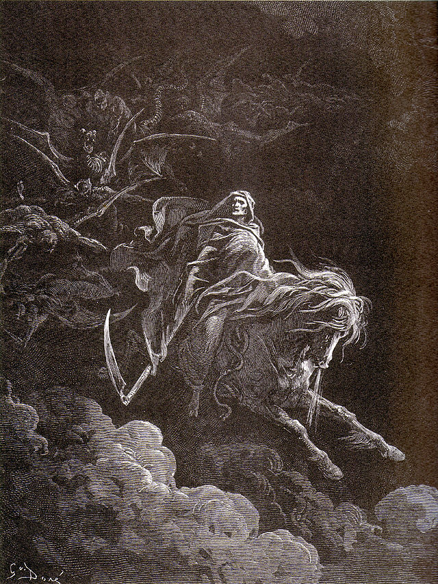 Death on the Pale Horse-Gustave Doré