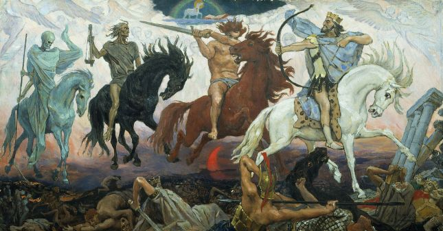 Four Horsemen of the Apocalypse-Viktor Vasnetsov