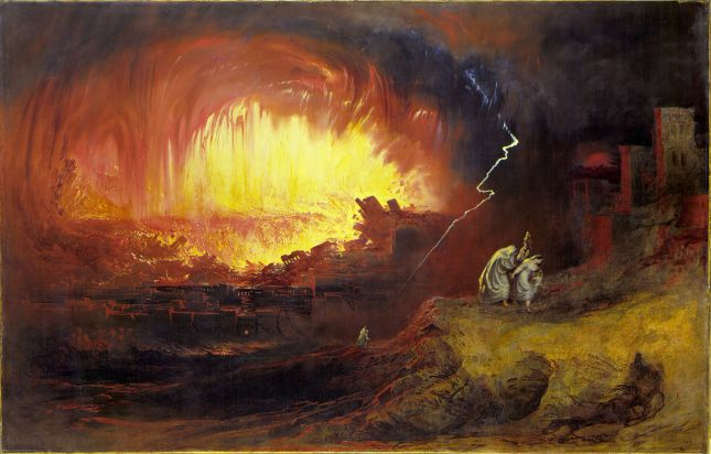 Sodom and Gomorrah-John Martin
