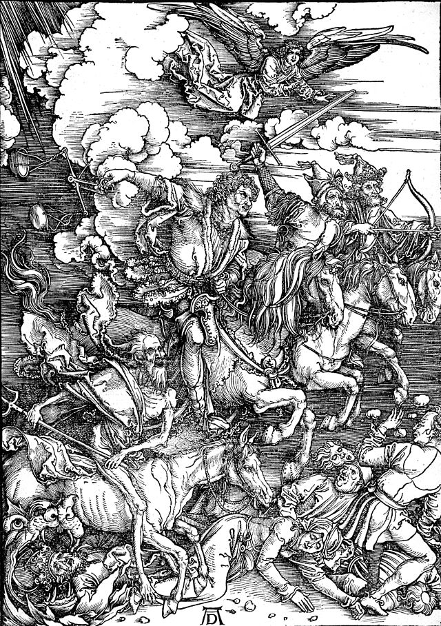 The Four Horsemen from the Apocalypse-Albrecht Dürer