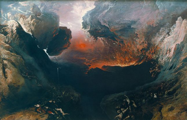 The Great Day of His Wrath-John Martin