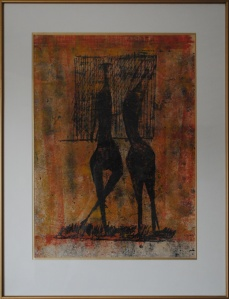 Two Figures-Edward_Delaney-Michael Watts Gallery
